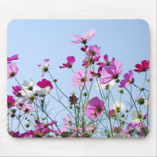 Pink Meadow Mouse Pad