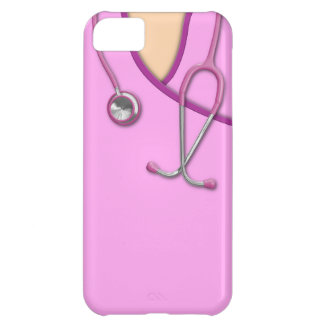 Pink Medical Scrubs iPhone 5C Case