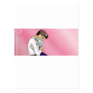 Pink Melancholy Postcard