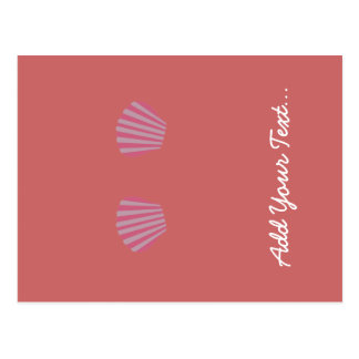 Pink Mermaid Bikini Postcard