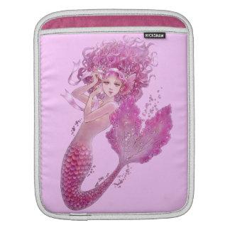 Pink Mermaid iPad Sleeve