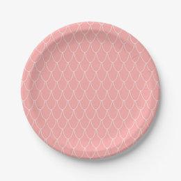 Pink Mermaid Party Paper Plates  sc 1 st  Zazzle & Mermaid Supplies Plates | Zazzle