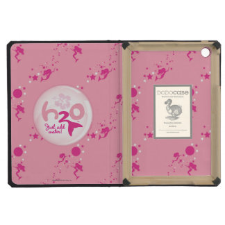 Pink Mermaid Pattern iPad Mini Covers