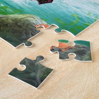 Pink Mermaid Puzzle