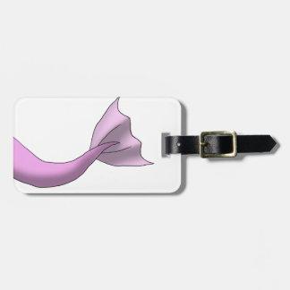 Pink Mermaid Tail Luggage Tags