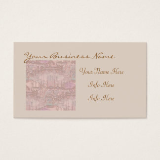 Pink Merry-Go-Round Horses Business Card