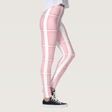 USA Themed Pink mesh pattern leggings