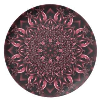 Pink metalwork fuji_plate