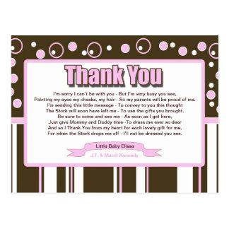 Pink Metro Postcard