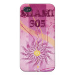 PINK-MIAMI 305 iPhone 4 PROTECTOR