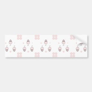 Pink Mice Bumper Sticker
