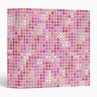 Pink Microdots Binders