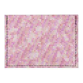 Pink Microdots Tyvek® Card Case Wallet