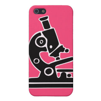 Pink Microscope Case For iPhone SE/5/5s