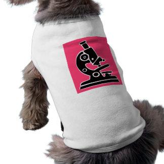 Pink Microscope Dog Tee