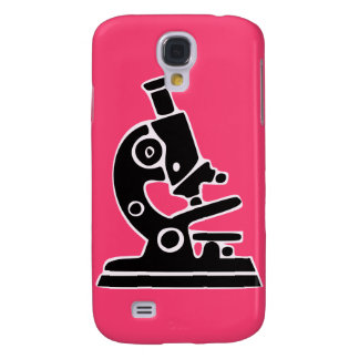 Pink Microscope Galaxy S4 Cover
