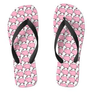2a1abb964 Pink Pig Sandals   Flip Flops