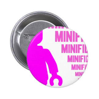 Pink Minifig by Customize My Minifig Badges