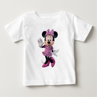 Pink Minnie | Cute Pose Baby T-Shirt