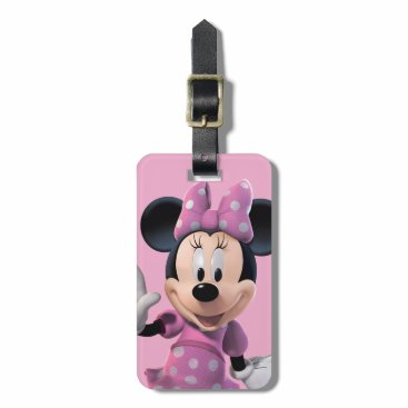 Disney Themed Pink Minnie | Cute Pose Bag Tag