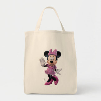Pink Minnie | Cute Pose Tote Bag