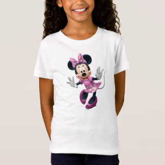 Pink Minnie   Hands Out T-Shirt