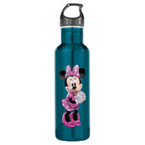 Pink Minnie | Hands Together Stainless Steel Water Bottle