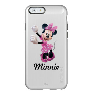 Pink Minnie | Hands Up and Dancing Incipio Feather® Shine iPhone 6 Case