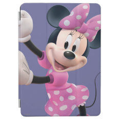 Pink Minnie | Hands Up And Dancing Ipad Air Cover at Zazzle