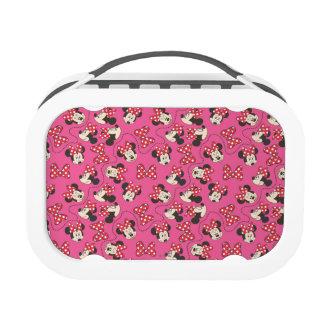 Pink Minnie Pattern Lunchbox