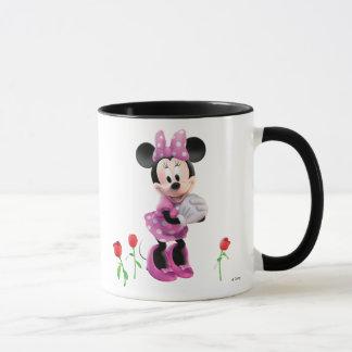 Pink Minnie   Tulips Mug