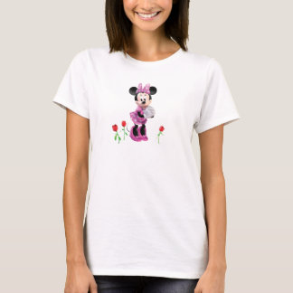 Pink Minnie | Tulips T-Shirt