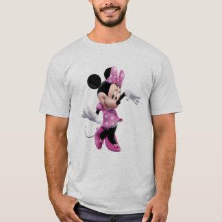 Pink Minnie | Waving and Dancing T-Shirt