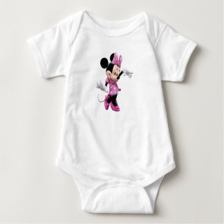 Pink Minnie   Waving and Dancing T Shirt