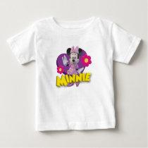 Pink Minnie | Waving Baby T-Shirt