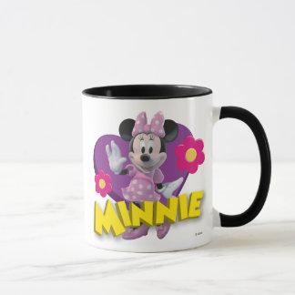 Pink Minnie | Waving Mug