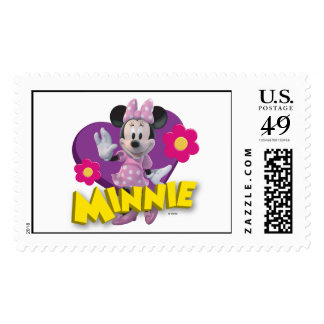 Pink Minnie | Waving Postage