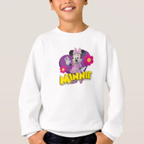 Pink Minnie | Waving Sweatshirt