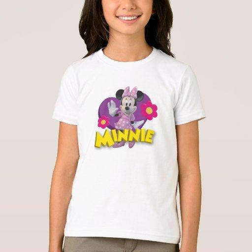 Pink Minnie | Waving T-Shirt