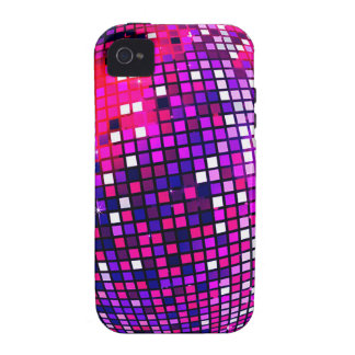 Pink Mirror Ball Case-Mate iPhone 4 Case