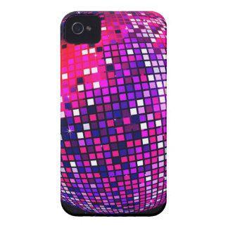 Pink Mirror Ball iPhone 4 Case-Mate Case
