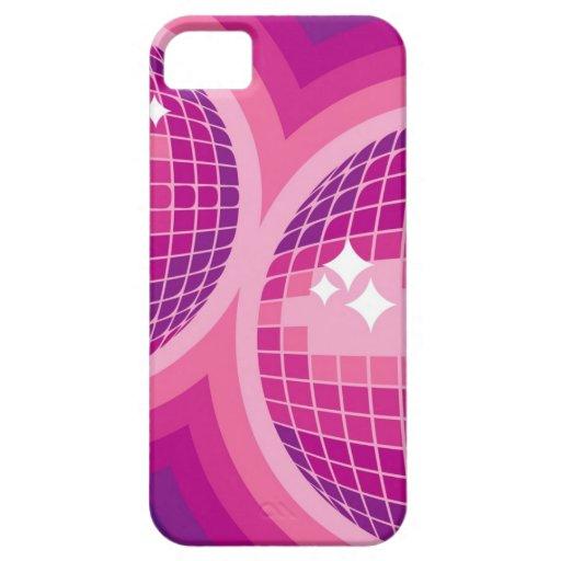 Pink Mirror Balls iPhone 5 Case