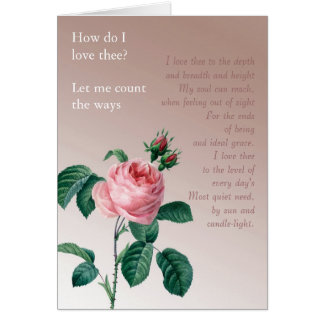 Pink Mist Rose Greeting Card