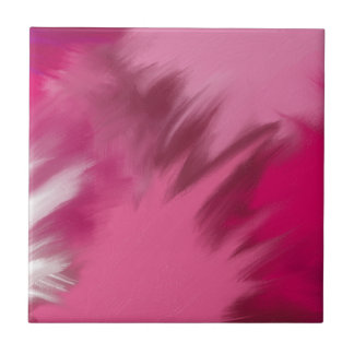Pink misty smoke. tile