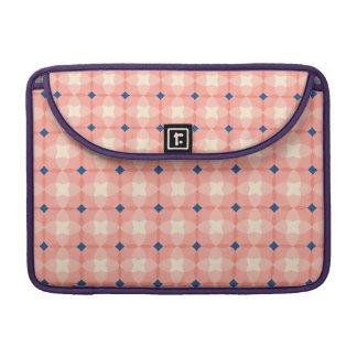 Pink modern fun checkers patter Macbook Pro Sleeve