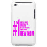 Pink Modern New Moms  Number One New Mom iPod Case-Mate Cases