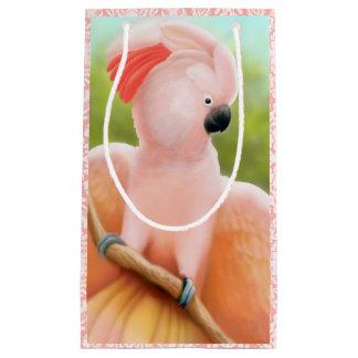 Pink Molluccan Cockatoo Small Gift Bag