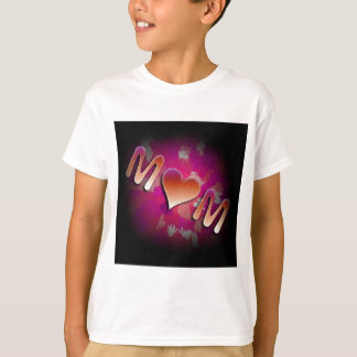 Pink MoM Design T-Shirt