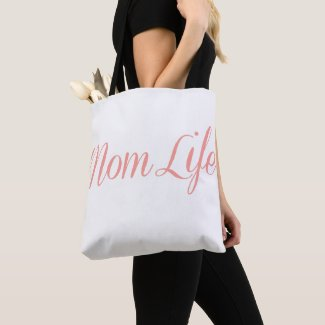 Pink Mom Life Tote Bag