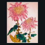 """Pink Mondrian Floral Study Postcard<br><div class=""""desc"""">This is a superb floral study by Mondrian.  Known mostly for his geometric studies,  this shows a definite softer side to his works.  A perfect choice for spring/summer.</div>"""